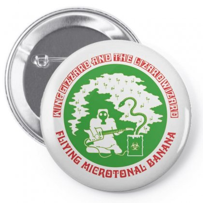 King Gizzard And The Lizard Wizard Pin-back Button Designed By Tasha