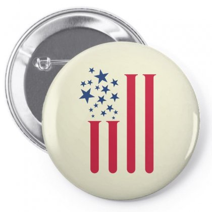 Us Lab Creative Illustration Icon Pin-back Button Designed By Lion Star Art
