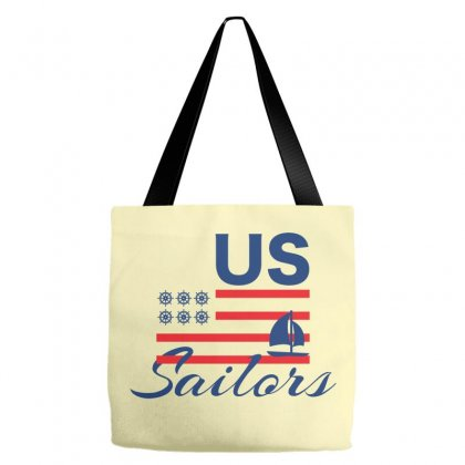 Us Sailors Creative Icon Tote Bags Designed By Lion Star Art