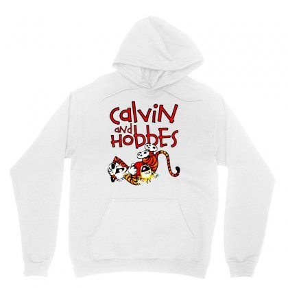 Calvin And Hobbes Unisex Hoodie Designed By Pinkanzee