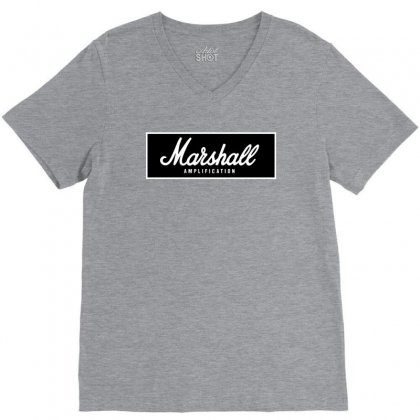 Marshall Amps V-neck Tee Designed By Ratna Valen