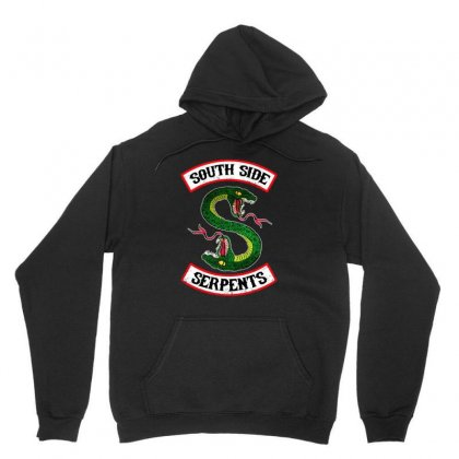 South Side Serpents Vintage Unisex Hoodie Designed By Blqs Apparel
