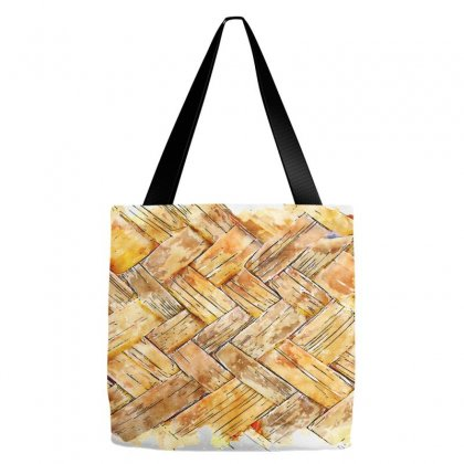 Mat Waving Watercolor Drawing Tote Bags Designed By Lion Star Art