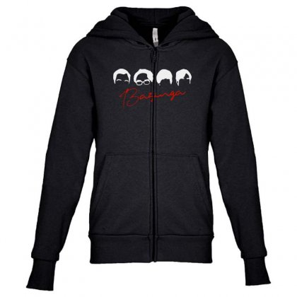 The Big Band Theory Youth Zipper Hoodie Designed By Blqs Apparel