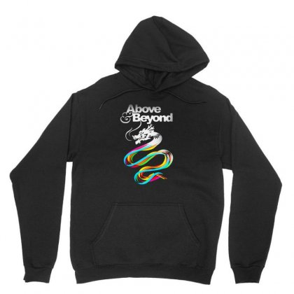 Above And Beyond Unisex Hoodie Designed By Blqs Apparel