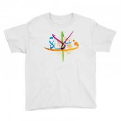 Arabic calligraphy creative collage Youth Tee | Artistshot