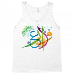 Arabic calligraphy creative collage Tank Top | Artistshot