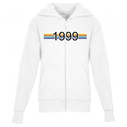 Born In 1999, 20 Years Of Being Awesome Youth Zipper Hoodie Designed By Vohoangvinh