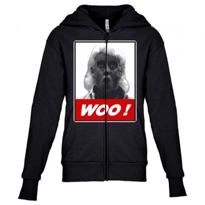 Ric Flair Drip1 Youth Zipper Hoodie Designed By Vanitty