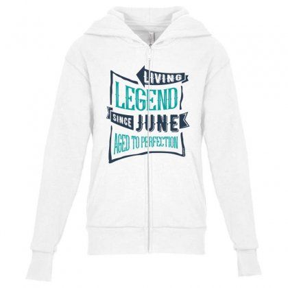 Since June Youth Zipper Hoodie Designed By Chris Ceconello