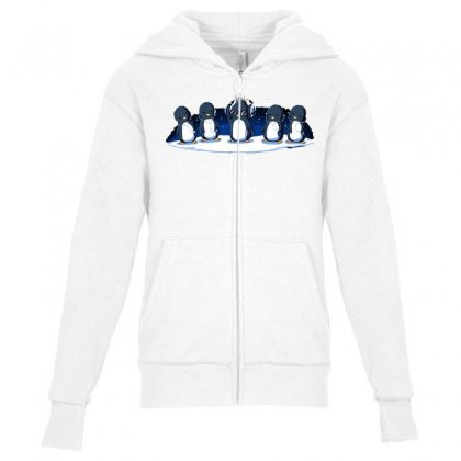 Cooler Than You Youth Zipper Hoodie Designed By Equinetee