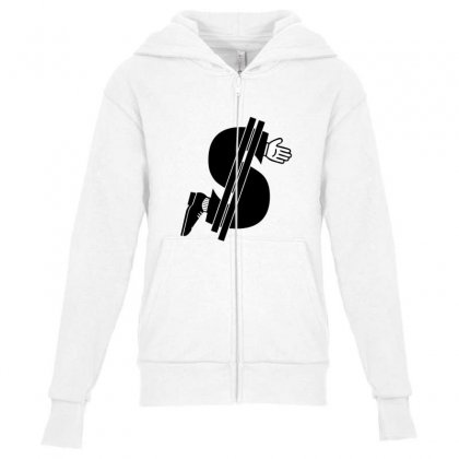 Costs An Arm & A Leg! Youth Zipper Hoodie Designed By Equinetee