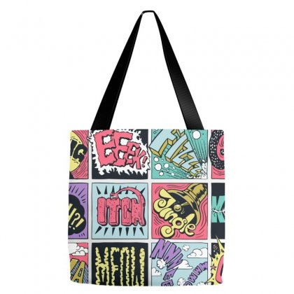 Crash Boom Bang Tote Bags Designed By Equinetee