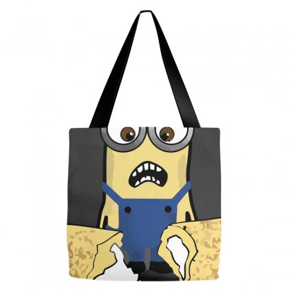 Cream Filled Horror Tote Bags Designed By Equinetee