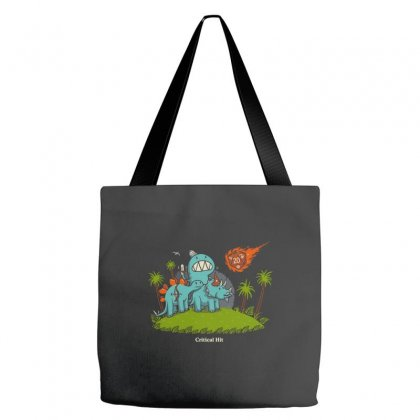 Critical Hit Tote Bags Designed By Equinetee