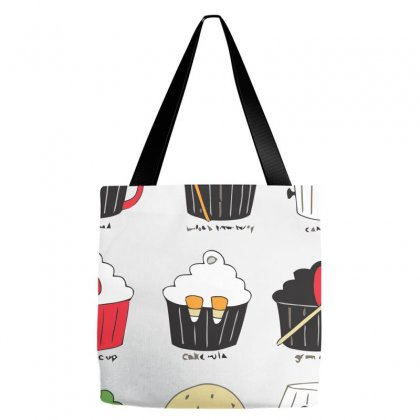 Cupcake Costume Party Tote Bags Designed By Equinetee