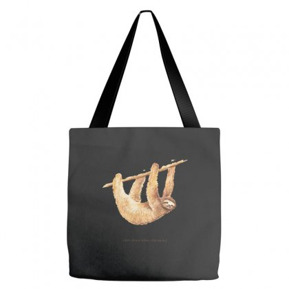 Css Animals Sloth Tote Bags Designed By Equinetee