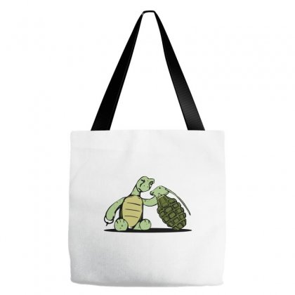 Curious Little Turtle Tote Bags Designed By Equinetee