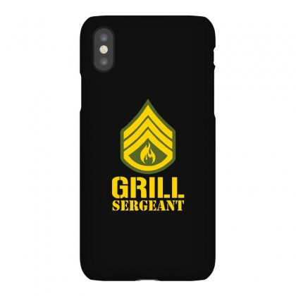 Grill Sergeant Military Iphonex Case Designed By Ismi