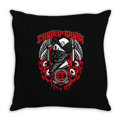 Cartel De Santa (11) Throw Pillow Designed By Teeshop