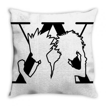 Hunter X Hunter Throw Pillow Designed By Willo