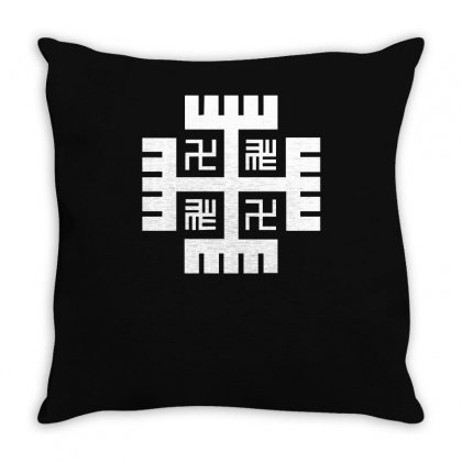 Hands Of God Throw Pillow Designed By Ismi