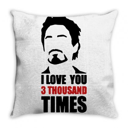 I Love You 3000 Three Thousand Times Throw Pillow Designed By Willo