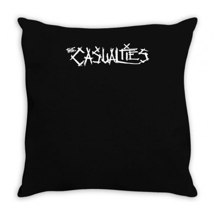 Casualties Throw Pillow Designed By Teeshop