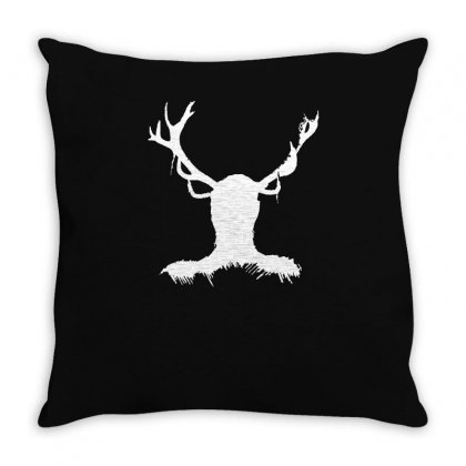 Hannibal   Stag Throw Pillow Designed By Ismi