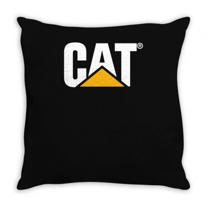 Cat Throw Pillow Designed By Teeshop