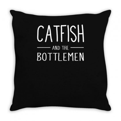 Catfish And The Bottlemen Throw Pillow Designed By Teeshop