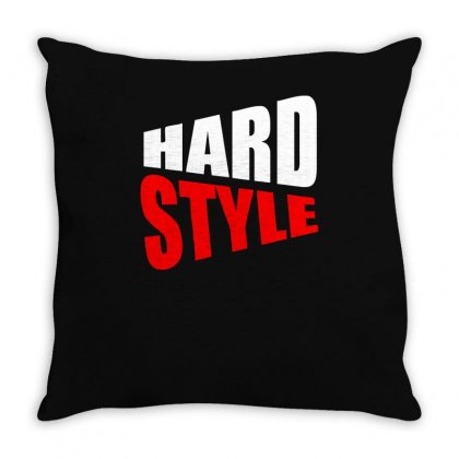 Hard Style Throw Pillow Designed By Ismi