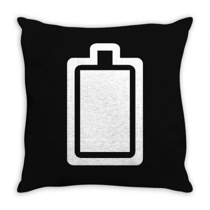Charged Throw Pillow Designed By Teeshop