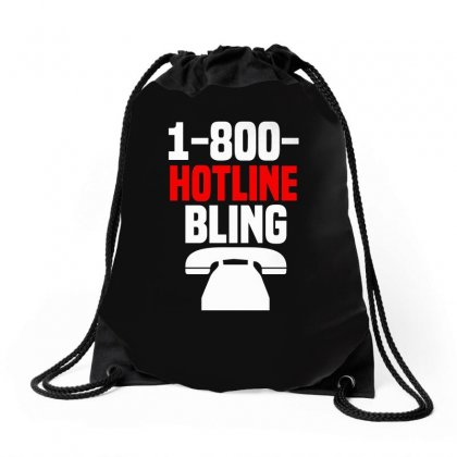 Hotline Bling Drawstring Bags Designed By Funtee