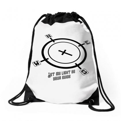 Let My Light Be Drawstring Bags Designed By Jcs Printing Services And Supplies