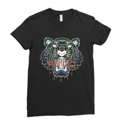 Kenzo Ladies Fitted T-shirt Designed By Vanitty