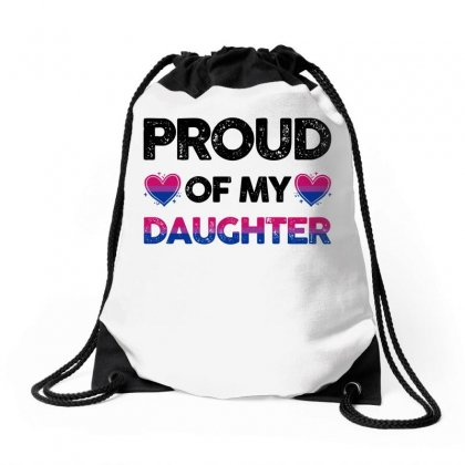 Proud Of My Daughter For Light Drawstring Bags Designed By Sengul