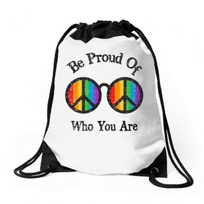 Be Proud Of Who You Are For Light Drawstring Bags Designed By Sengul