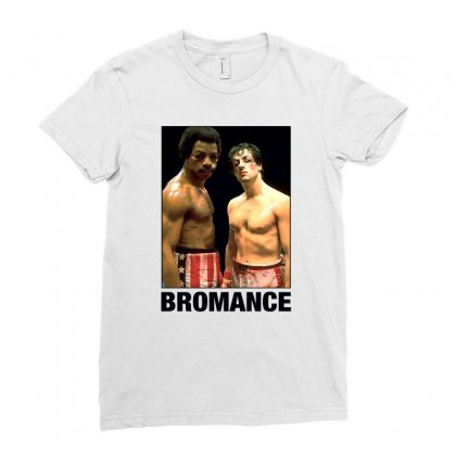 Bromance For Light Ladies Fitted T-shirt Designed By Sengul