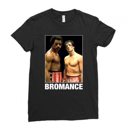 Bromance For Dark Ladies Fitted T-shirt Designed By Sengul