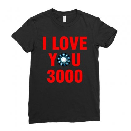 I Love You Three Thousand Times Ladies Fitted T-shirt Designed By Yellow Star