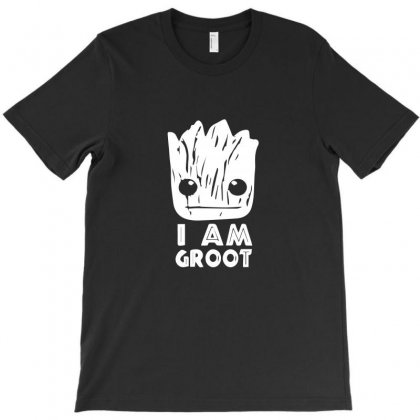 I Am Groot Face T-shirt Designed By Ismi