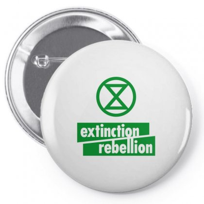 Extinction Rebellion Pin-back Button Designed By Willo