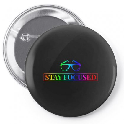 Focused Pin-back Button Designed By Willo