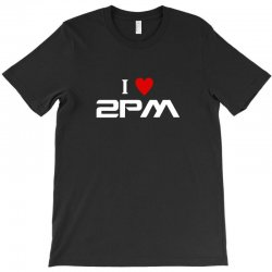 i love 2pm T-Shirt | Artistshot