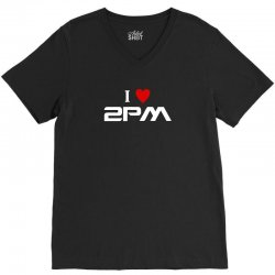 i love 2pm V-Neck Tee | Artistshot