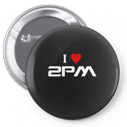 I Love 2pm Pin-back Button Designed By Ismi