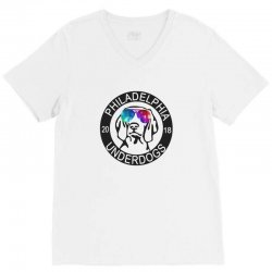 philly underdogs V-Neck Tee | Artistshot