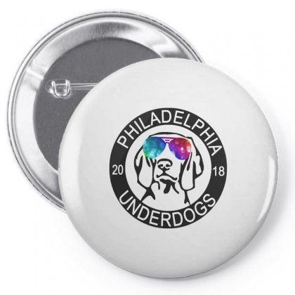 Philly Underdogs Pin-back Button Designed By Scarlettzoe