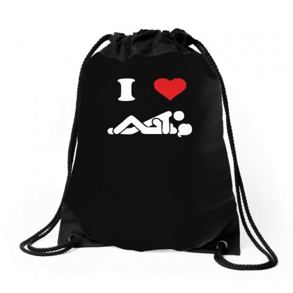 I Love Sex Funny Sexy New Drawstring Bags Designed By Ismi